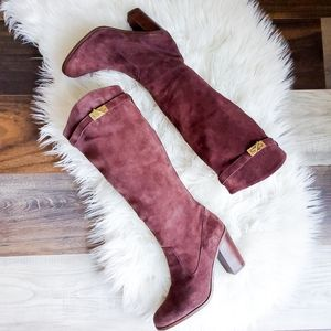 NWOT Tommy Hilfiger tall suede boots